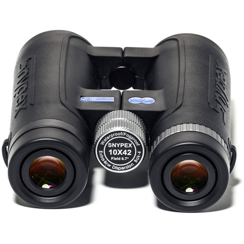 Snypex Optics Knight 10X42 D-ED Wide Views Professional Binoculars for Birders / Hunters with ED Glass Binocular + Harness + Lens Pen + Cleaning Accessories + Valued Bundle
