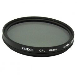 Zeikos ZE-CPL62 62mm Multi-Coated Circular Polarizer Filter
