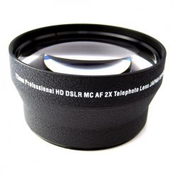 Zeikos ZE-2X72B 72mm 2X Telephoto High Definition Lens Converter