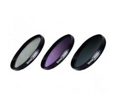 Vivitar 55mm 3-Piece Multi Coated Filter Kit UV, CP & FLD Filter