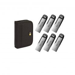 6 SanDisk 32GB Ultra Flair USB 3.0 Flash Drives + Case Logic JDS-6 USB Drive Shuttle