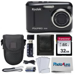 Kodak PIXPRO Friendly Zoom FZ43 16 MP Digital Camera (Black)
