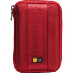 Case Logic QHDC-101 Portable Hard Drive Case (Red)