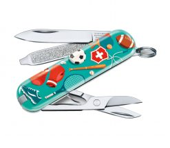 """Victorinox Swiss Army Classic SD Pocket Knife Sports of the World - Limited Edition 2020 """"Sports World"""""""