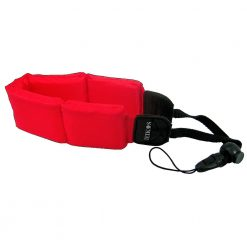 Zeikos ZE-FS10-R Floating Strap for Cameras (Red)