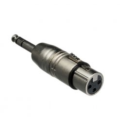 Hosa GXP-143 Adaptor, XLR3F to 1/4 in TRS