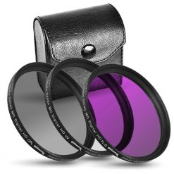 Ultimax 55mm 3 Piece Filter Kit UV, CPL & FLD Filter