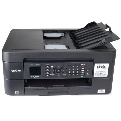 Brother Work Smart Series MFC-J497DW Wireless All-In-One Inkjet Printer (Refurbished)
