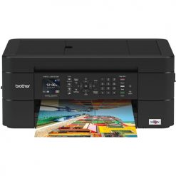 Brother Work Smart Series MFC-J491DW Compact Color All-In-One Printer (Manufacturer Refurbished)