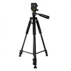 Xit 60 Inch Pro Series Full Size Camera/Video Tripod Black