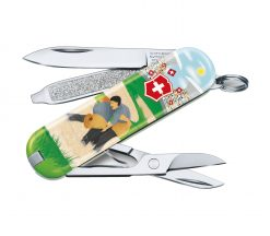 """Victorinox Swiss Army Classic SD Pocket Knife Sports of the World - Limited Edition 2020 """"Swiss Wrestling"""""""