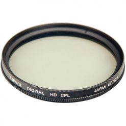 Bower Digital Multi-Coated High-Definition 46mm Circular Polarizer Filter