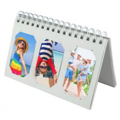 Xit Scrapbooking Album For Fuji Instax Photos Holds 60 Prints White XTFA60W