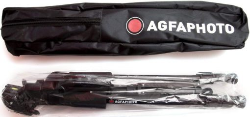 AGFA 60-Inch Photo/Video Professional Tripod with Carrying Case
