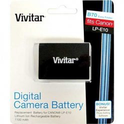 Vivitar Replacement Battery For LP-E10