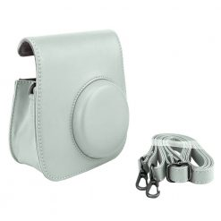 Ideal Accessories Smokey White Groovy Case for Fuji Instax
