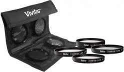 Vivitar 49mm Close Up Lens Set +1 +2 +4 +10 - VIV-CL-49