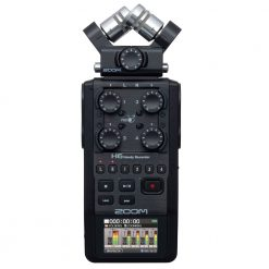 Zoom H6 All Black Recorder