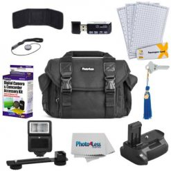 Photo4less Camera Case Kit For Canon T6i & T6s Accessories