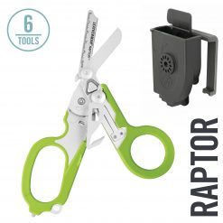 Leatherman - Raptor Emergency Medical Shears & Multitool, Green with Utility Holster