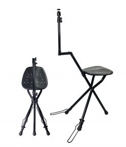 Vidpro SP-12 SeatPod Portable Folding Camera Mount with Integrated Chair