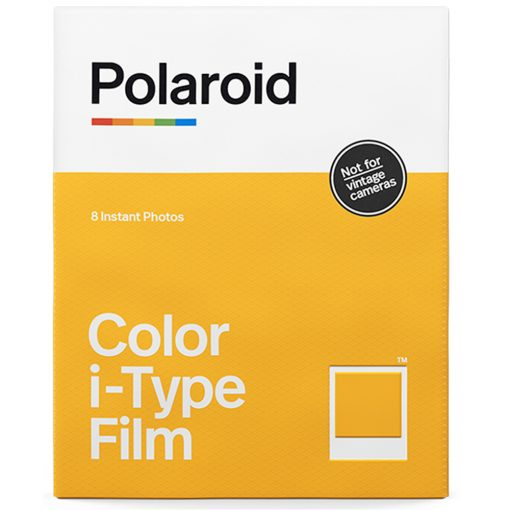 Polaroid Color Film for i-Type (8 Sheets) + Black & White (8 Sheets) + Album