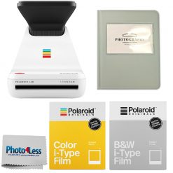 Polaroid Lab Instant Film Printer | Color Film | Black & White Film | Grey Album