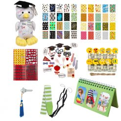 Exclusive Graduation Kit-Variety Of Grad Accessories For Fujifilm Instax-Green