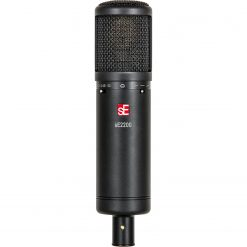 sE Electronics SE2200 Large Diaphragm Cardioid Condenser Mic with Shockmount & Filter