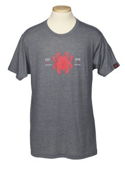 Spyderco T-Shirts Unisex with EST Logo, High Performance made with Polyester and Cotton. Large - TSBL