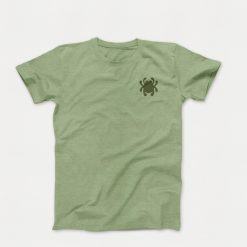 Spyderco T-Shirt Unisex Bug Logo & Knife Anatomy, Made with Polyester and Cotton, Small - TSKAS