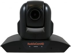 HuddleCamHD 10X 1080p PTZ Camera with Built-in Audio, Black