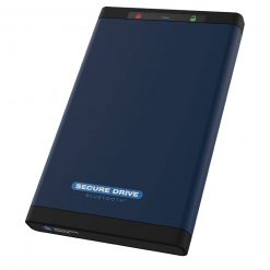 SecureData SecureDrive BT 2TB Encrypted HDD with Bluetooth Authentication
