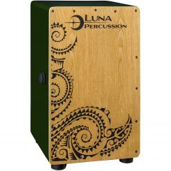 Luna Guitars Luna Cajon Green with Bag