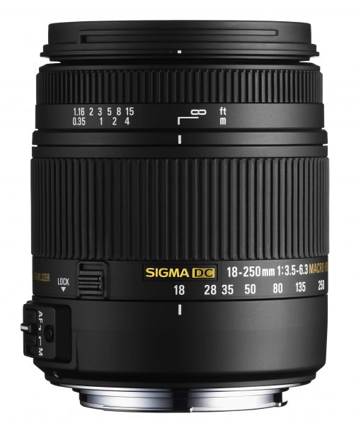 Sigma 18-250mm F3.5-6.3 DC Macro OS HSM for Nikon F Mount + Lens Accessory Kit!