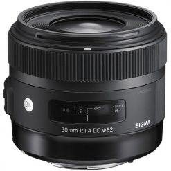 Sigma 30mm f/1.4 DC HSM Art Lens for Nikon(301306)