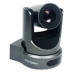 PTZoptics 20x-USB Video Conferencing Camera, Gray