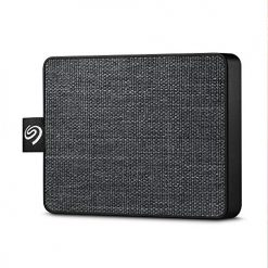 Seagate 1TB One Touch USB 3.0 External SSD (Black Woven Fabric)