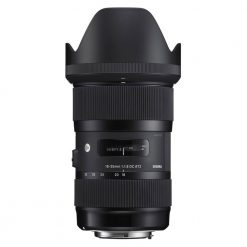 Sigma 210101 18-35mm F1.8 Art DC HSM Lens for Canon APS-C DSLRs (Black)