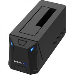 """Sabrent USB 3.0 to SATA External Hard Drive Docking Station for 2.5"""" or 3.5""""' HDD, SSD"""