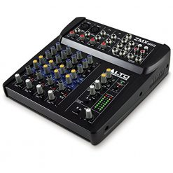 Alto Professional ZMX862 | 6-Channel 2-Bus Mixer with 12 Inputs, 3-Band EQ per Channel & 48V Phantom Power