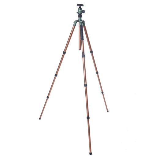 FotoPro X-Go Predator Tripod Kit, Brown with Matte Green