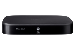 Lorex 4K Ultra HD 8 Channel Security DVR with Advanced Motion Detection Technology and Smart Home Voice Control, 2TB Hard Drive