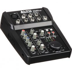 Alto Professional ZMX52 | 5-Channel 2-Bus Mixer with 6 Inputs, 3-Band EQ per Channel & 18V Phantom Power