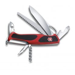 Victorinox Swiss Army RangerGrip 79 Pocket Knife Multi-Tool, Red / Black