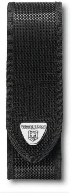 Victorinox Swiss Army Large RangerGrip Belt Pouch, Black Nylon