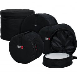 "Gator GPFUSION16 5-Piece Set of Padded Nylon Bags for Fusion Drum Set: 22""X18"", 10""X9"", 12""X10"", 16""X16"", 14""X5.5"""