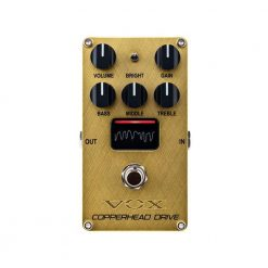 Vox Copperhead Drive Pedal W/NuTube