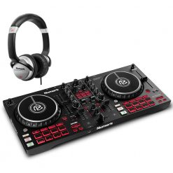 Numark Professional Mixtrack Pro FX 2-Deck DJ Controller with Effects Paddles + HF125 Professional DJ Headphones
